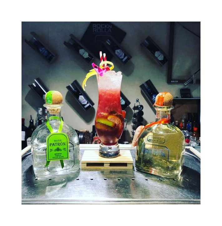 Coctel Patron Perfectionists Glace Lounge Bar Cordoba